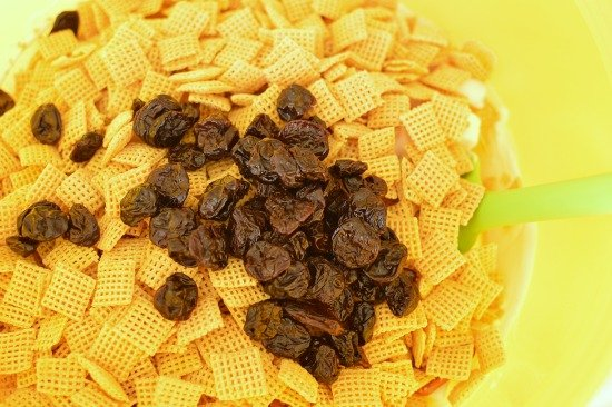 Cherry Christmas Chex Mix