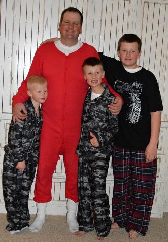 Christmas Boys!
