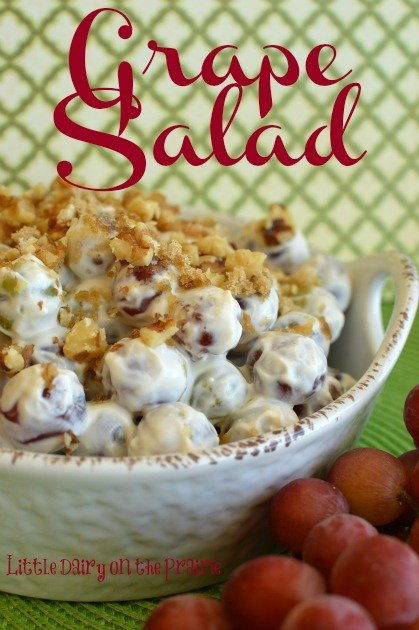 Creamy Grape Salad with Greek Yogurt
