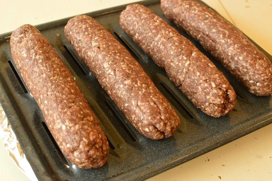 Homemade beef summer sausage!!