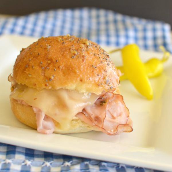 Hot Ham & Cheese Sliders!!!