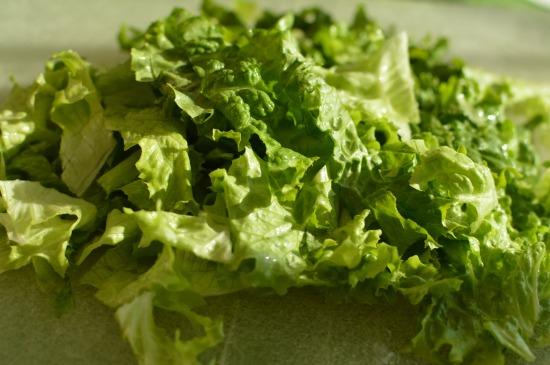 Shredded Lettuce!