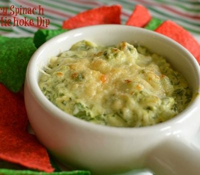Spicy Spinach and Artichoke Dip