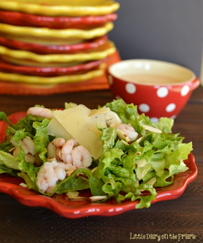 Steakhouse Shrimp Salad! Elegant enough for classy dinners...simple enough for everyday!