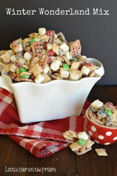 This Chex Mix is a tradition! We eat it every year on way to the mountains to Christmas tree hunt!