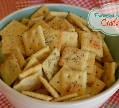 Make a big batch because these cheesy crackers go fast!! - Little Dairy on the Prairie