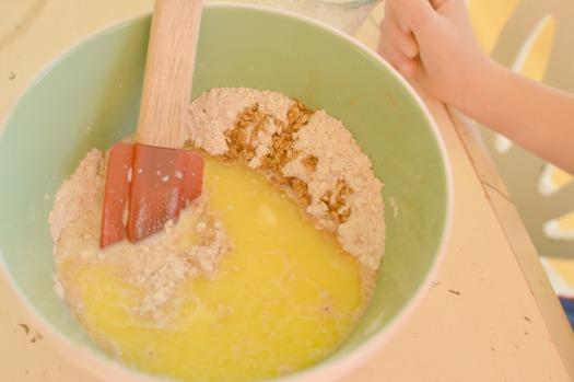 Moist Oatmeal Pudding