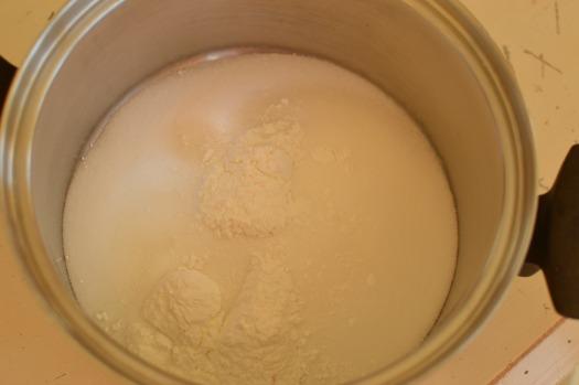 Nutmeg Cream Sauce