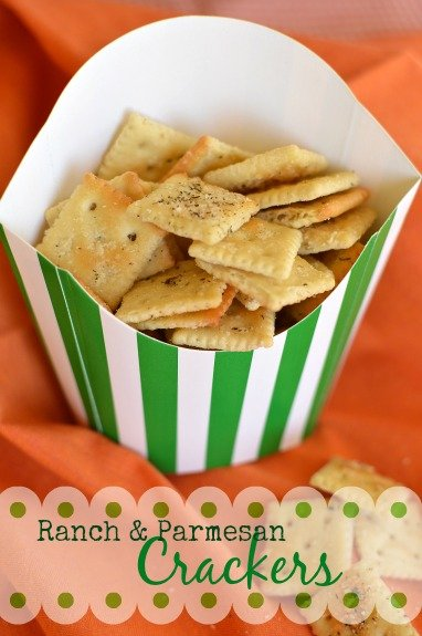 Savory crackers! Super easy to make and incredibly munchie! - Little Dairy on the Prairie