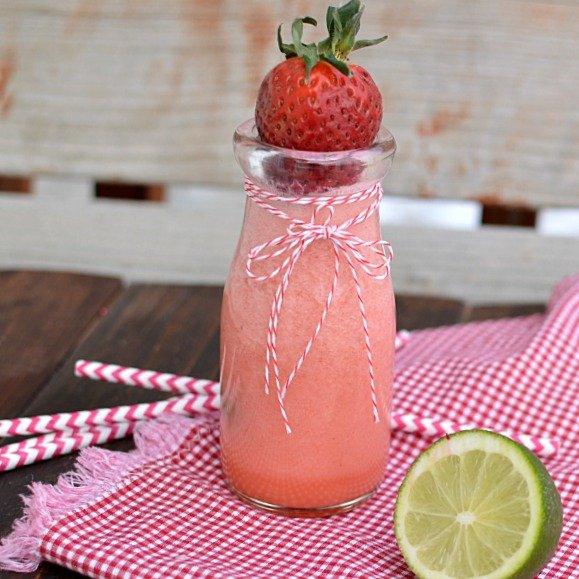 Creamy Strawberry Limeade!!!
