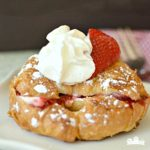 Raspberry Cheesecake Croissant French Toast