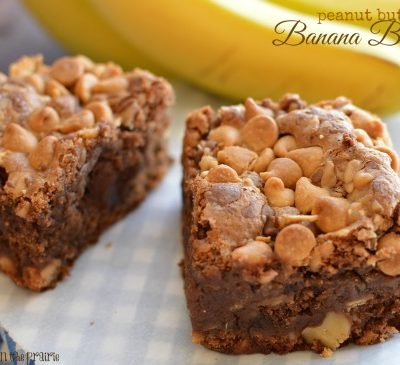 Rich, moist and ultra decadent banana brownies! - Little Dairy on the Prairie