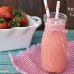 Creamy  Strawberry Limeade