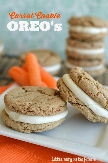 A fun spin on traditional carrot cake with cream cheese frosting! More simple to make too! Little Dairy on the Prairie