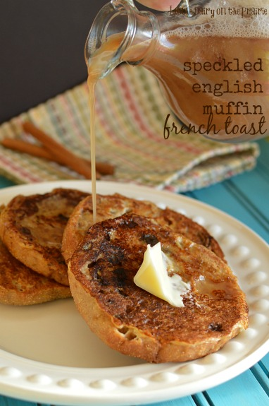 English muffins make the BEST French toast! Speckled English Muffin ...