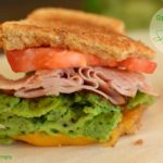 Green Eggs & Ham Sandwich