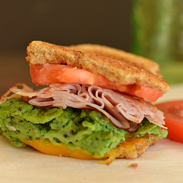 Green Eggs and Ham Sandwich!!!