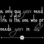 He Needs Me!