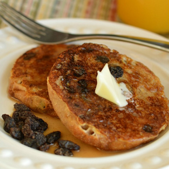 Speckled English Muffin French Toast!!!