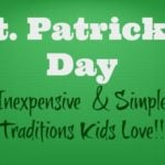 Frugal St. Patrick's Day Traditions
