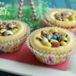 Robin Egg Sugar Cookie Cheesecakes