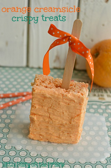Orange Creamsicles!  Little Dairy on the Prairie