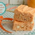 Orange Creamsicle Cripsy Treats