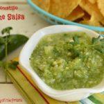 Tomatillo Lime Salsa