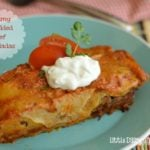 Creamy Shredded Beef Enchiladas