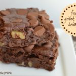Fudgy Greek Yogurt Brownies