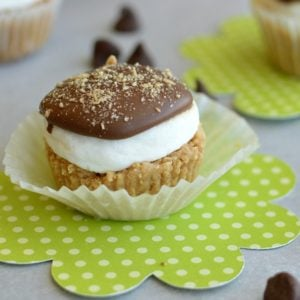 Peanut Butter Cup S'mores!!
