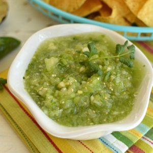 Tomatillo Lime Salsa!!!