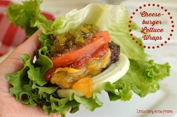 Juicy cheeseburgers are a classic meal! Here's an easy way to make them just a little healthier without sacrificing too much!  Little Dairy on the Prairie