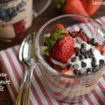 Chocolate Greek Yogurt Parfaits