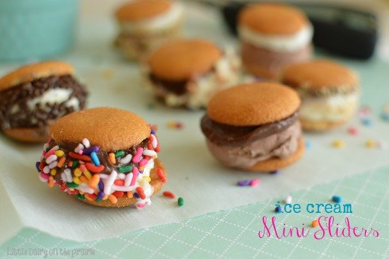 Ice Cream Sandwiches! Perfect for little hands! Little Dairy on the Prairie