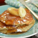 Melt in your mouth banana pancake!  Little Dairy on the Prairie