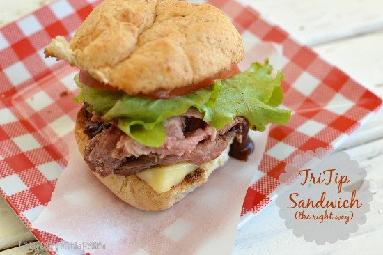 I learned a few tricks for making a tri tip sandwich even better! Oh my gosh, I'm in love! Little Dairy on the Prairie