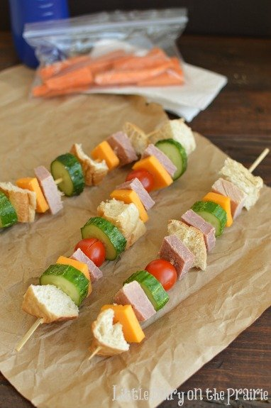 Sandwich Kabobs!