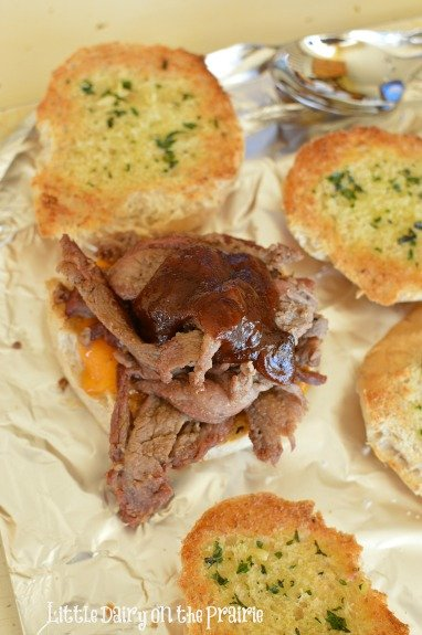 Tri Tip Sandwich packed with flavor!