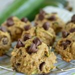 Healthy Zucchini Cookies Recipe with Chocolate Chips and Oats