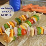 Ham and Cheese Sandwich Kebabs