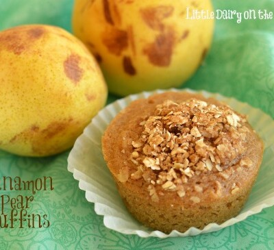 Pear muffins!