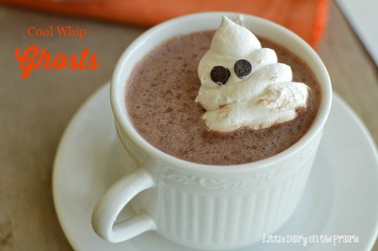 Cutest little Ghosts make everything Halloween more fun!  Little Dairy on the Prairie