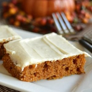 Pumpkin Bars!!!