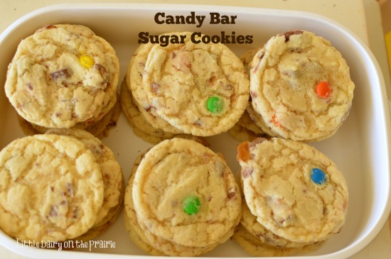 Candy Bar Sugar Cookies