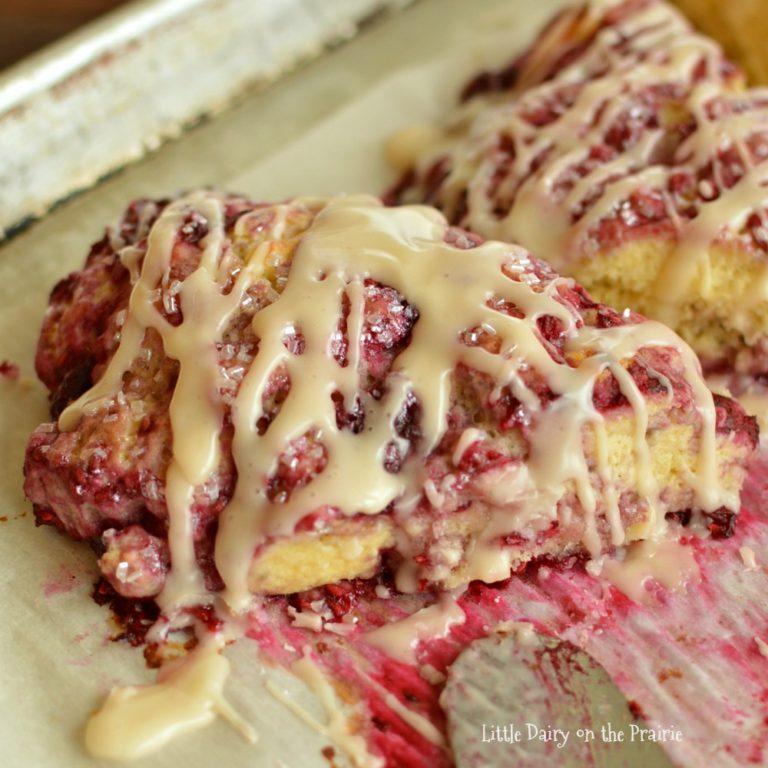 raspberry scone recipe