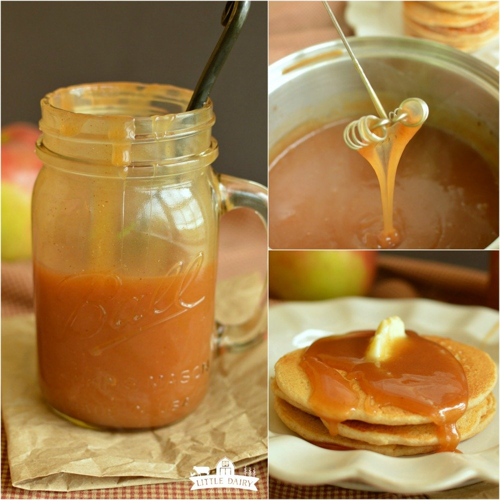 Capture the flavors of fall in apple cider syrup!