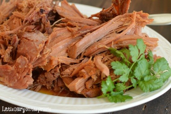 Fall off the bone, Slow Cooker Brown Sugar Ham! Little Dairy on the Prairie