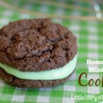 Homemade Mint Oreos