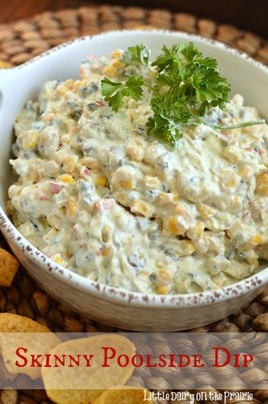 My thighs were begging me to make a skinny version of my Poolside Dip! The skinny version is every bit as good as the regular version. No guilt!  Little Dairy on the Prairie